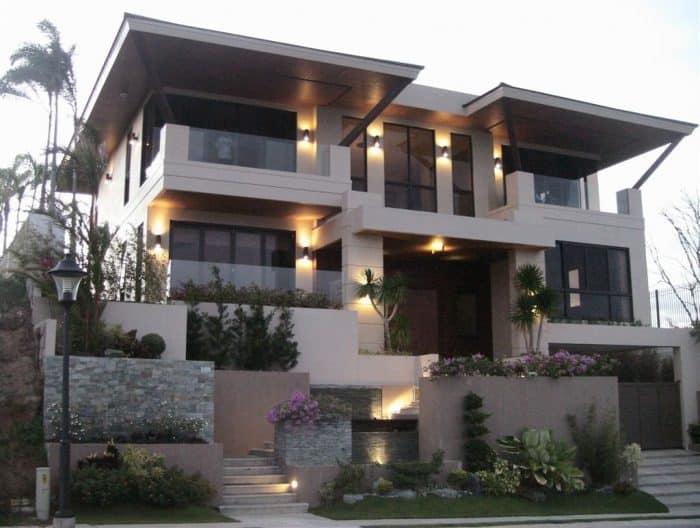 Rumah Dua Lantai Simpel