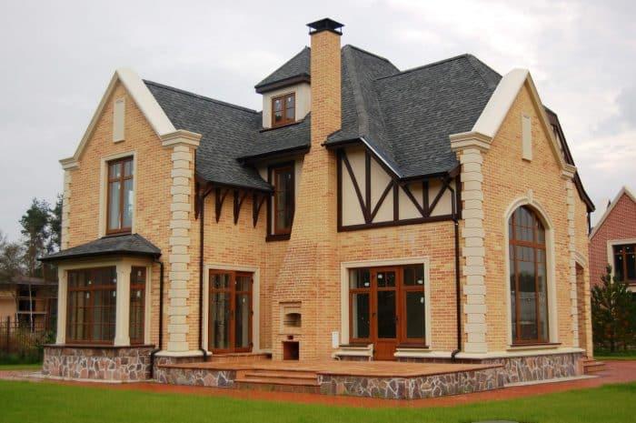 contoh desain rumah gaya Eropa