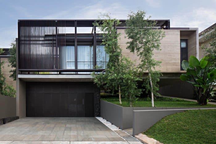 Rumah Industrial Simple With Mini Garden