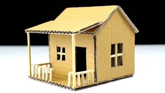 45 Contoh Desain Rumah Dari Kardus Yang Bisa Dibuat Dirumah