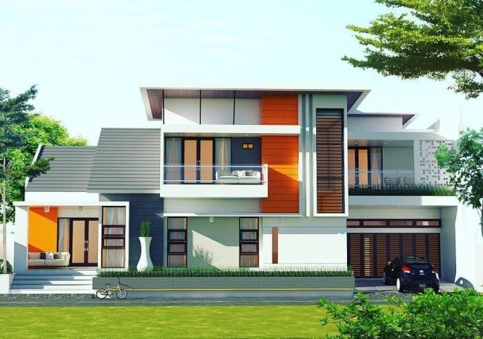 50 Contoh Desain Rumah Bagian Depan Modern Klasik Dan Minimalis