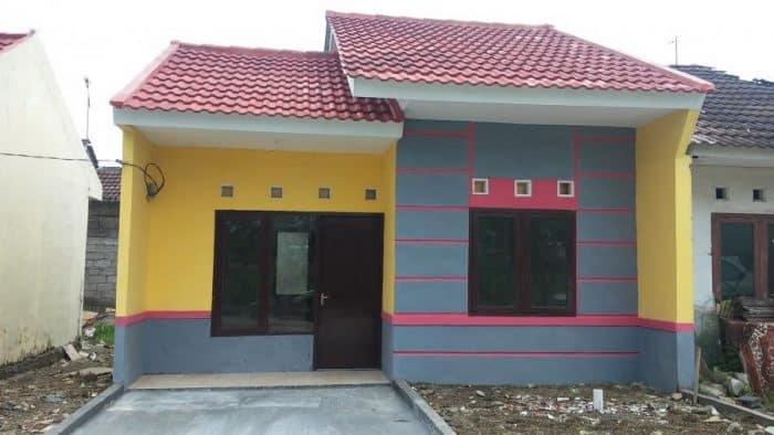 Rumah Simple Semi Minimalis