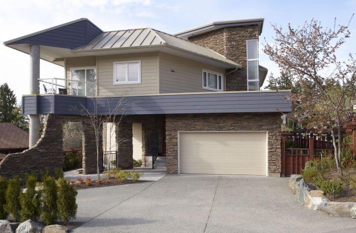 Rumah dengan villa style minimalis