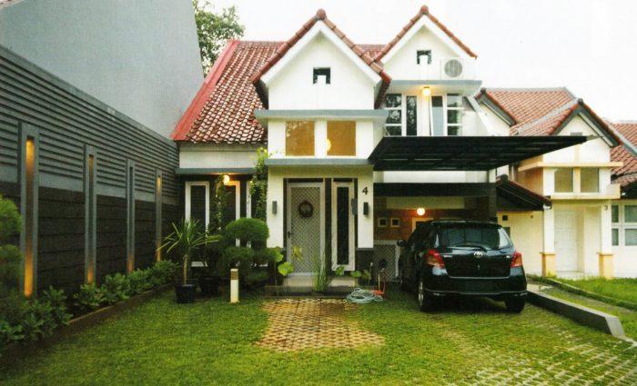Rumah mewah in white