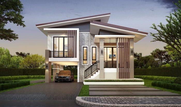 40 Ví dụ về Thiết kế Nhà để xe Phía dưới Thanh lịch và Tối giản