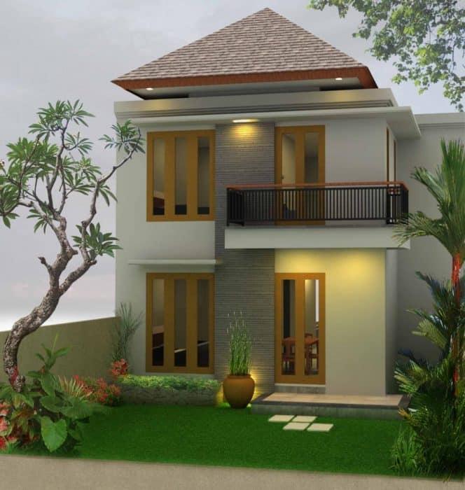 43 Contoh Desain Rumah Kecil Rekomendasi Dan Modern