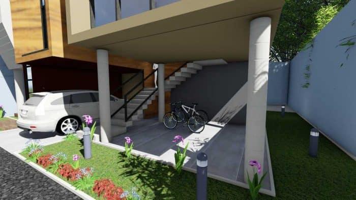 Simple house dengan konsep modern