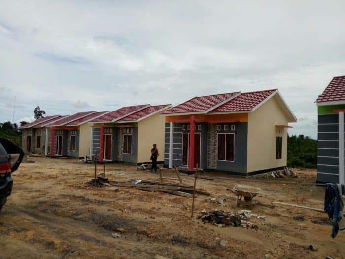 Desain rumah dengan ornamen hias