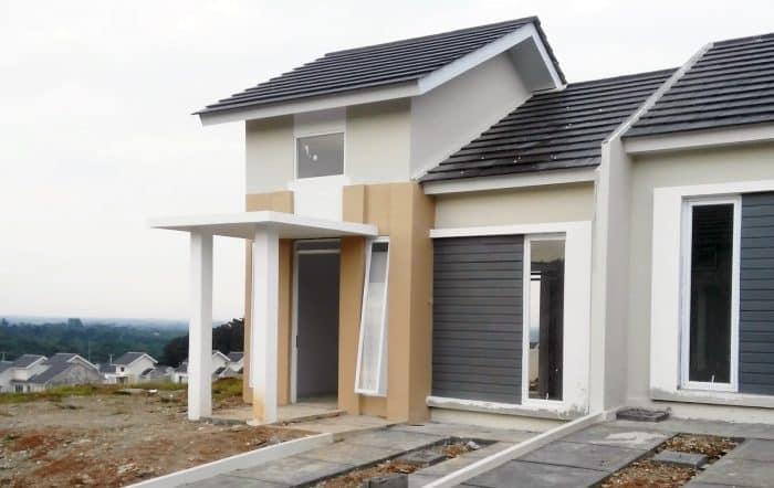 Desain rumah dengan rolling door