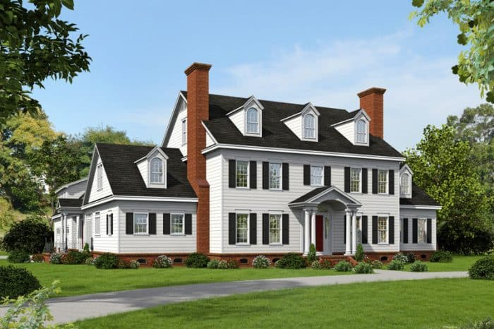 45 Contoh Desain Rumah Gaya Eropa Klasik (Termewah)