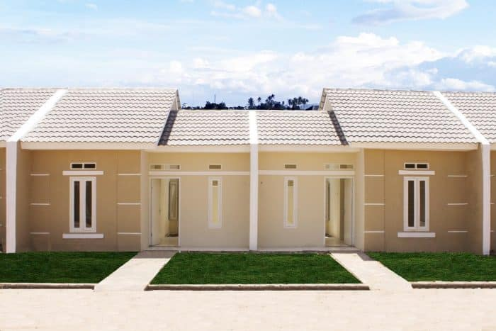 Desain rumah gold elegan