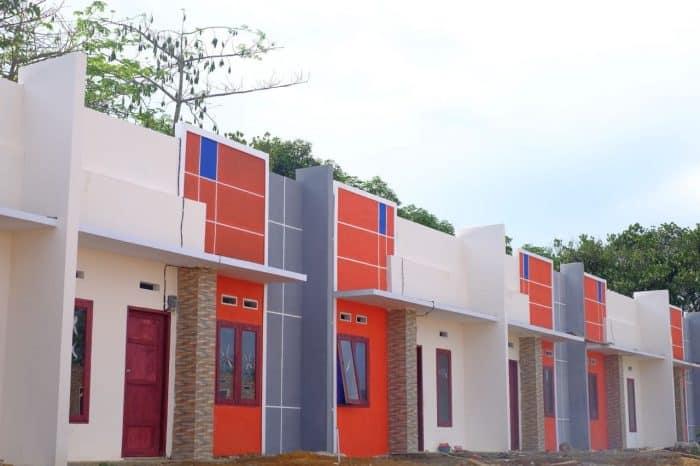 Desain rumah tampak tinggi