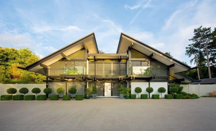 Rumah Atap Terbelah