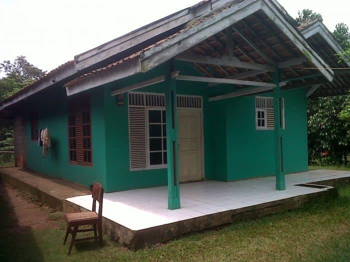 Rumah Desa Simple dan Nyaman
