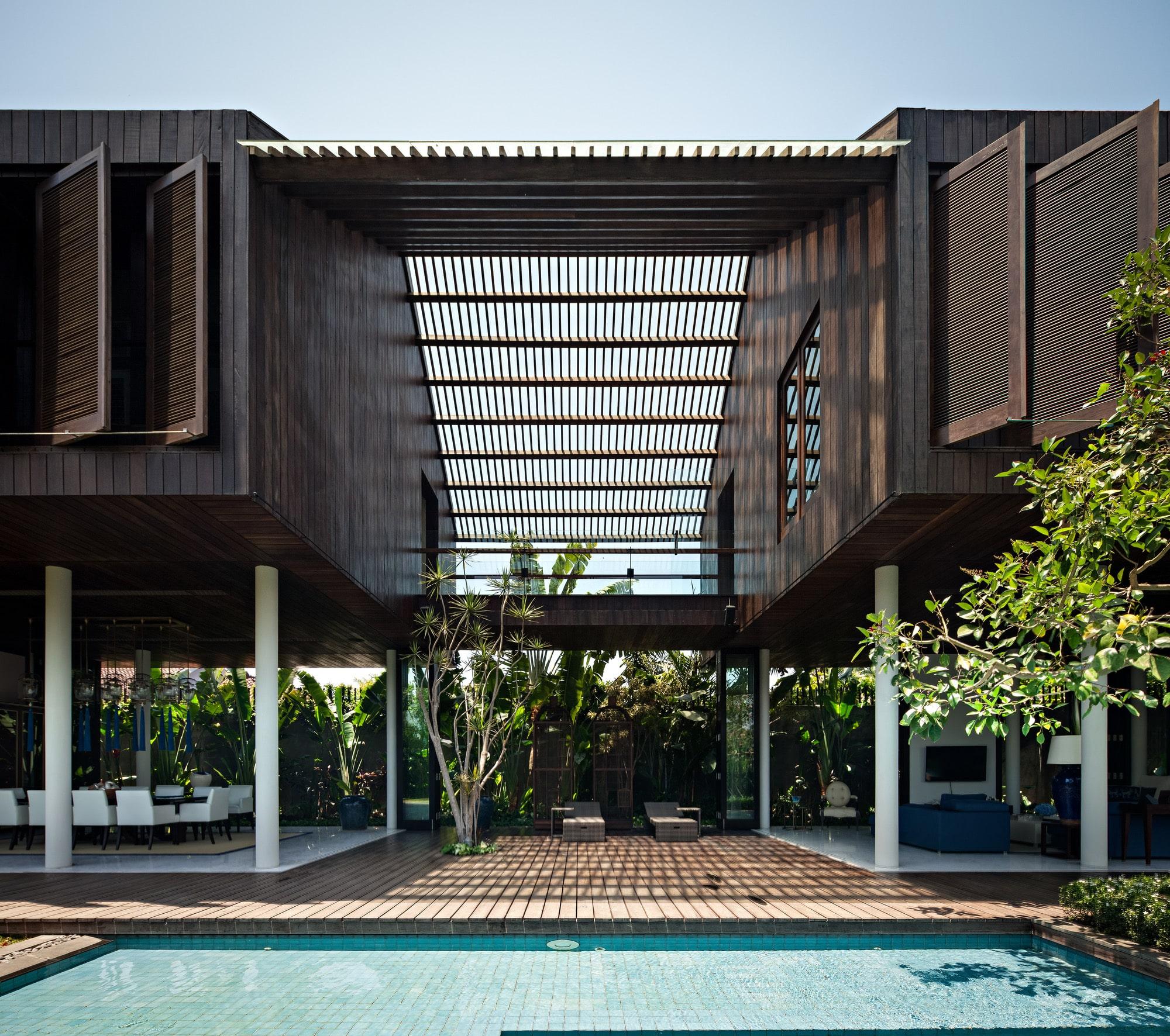 45 Contoh Desain Rumah Bali Terbaru Tradisional