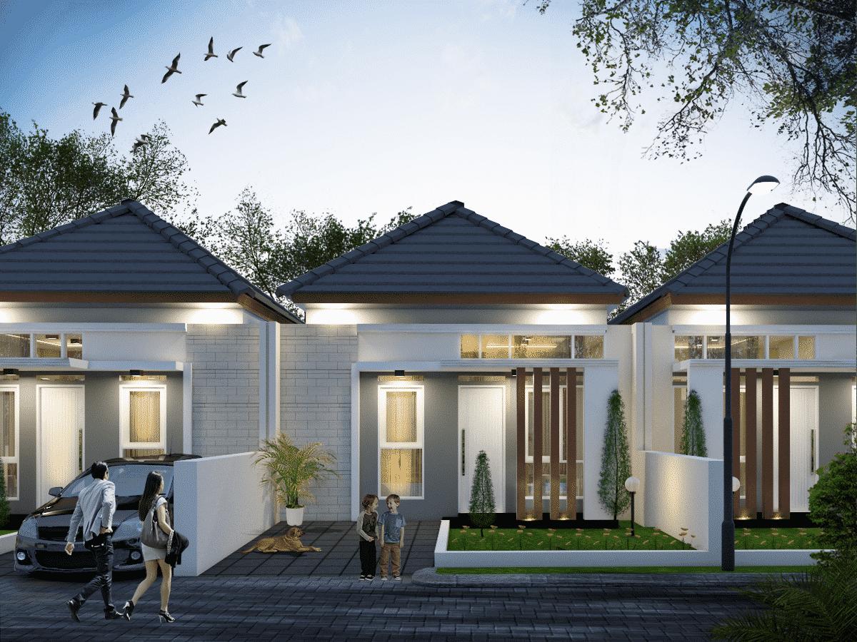 49+ Contoh Desain Rumah Type 45 (minimalis dan modern)