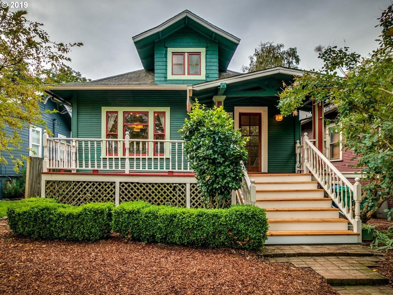 Contoh desain rumah berbagai ukuran warna hijau cantik ...