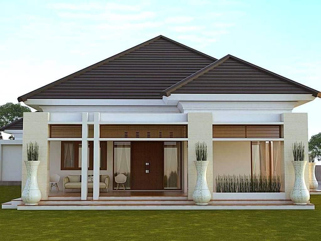 Contoh desain rumah cantik ramah lingkungan - Thegorbalsla