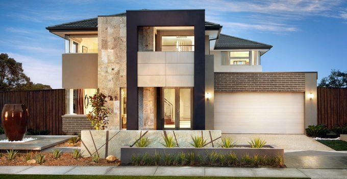 49 Contoh Desain Rumah Minimalis 2 Lantai Modern