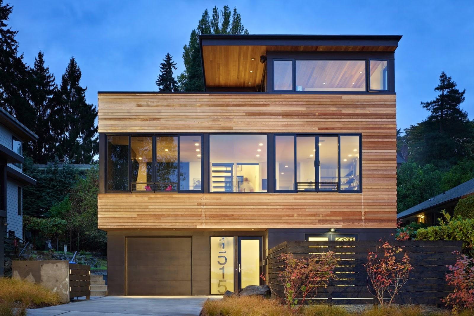 45 Rekomendasi Desain Rumah Minimalis Tampak Depan Modern