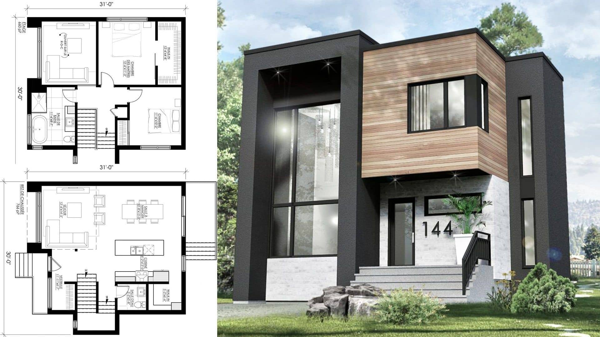 Contoh Desain Rumah Type 30 Modern Dan Keren