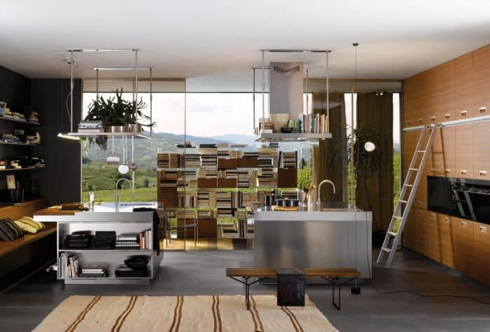 Dapur Mini Dalam Ruang Baca/Kerja
