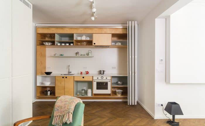 Dapur Mini Model Single Line