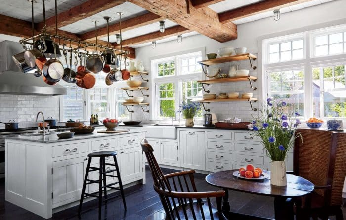 Dapur Modern Banyak Kabinet