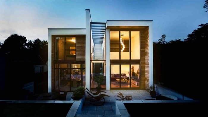 Desain Arsitektur Dua Bagian