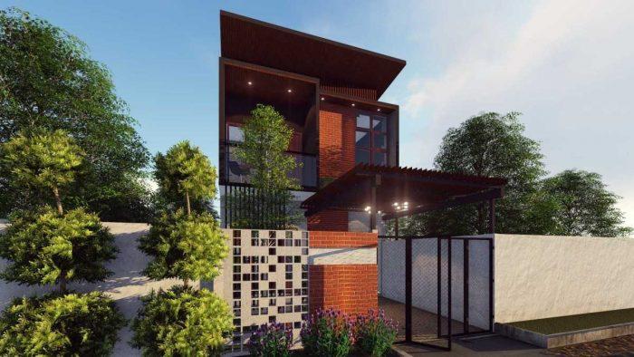 Desain Cap House