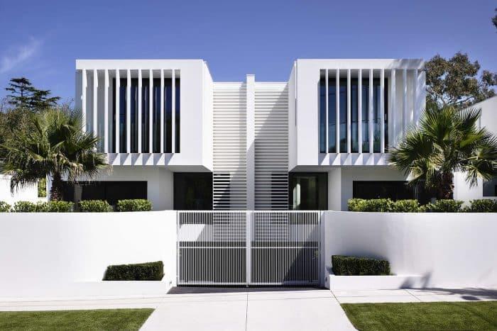 Desain Rumah Modern Berkonsep Senar