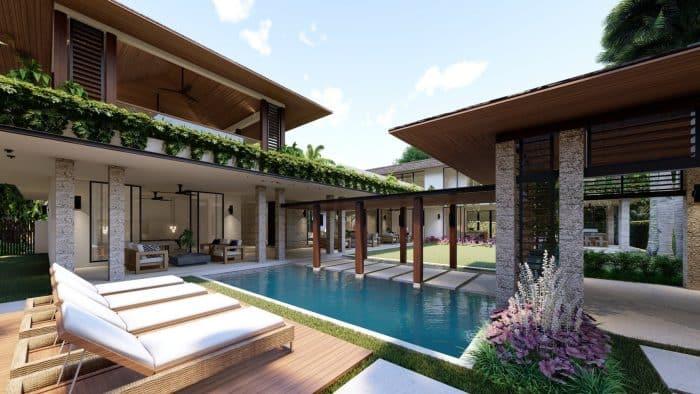 Desain Rumah bak Wisma