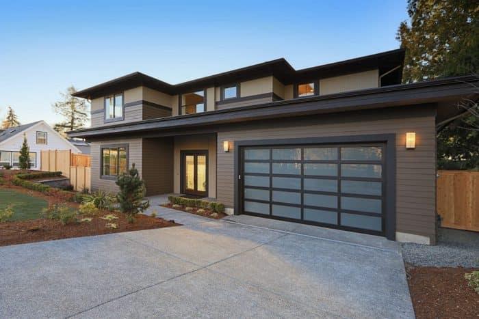 Landed house minimalis modern