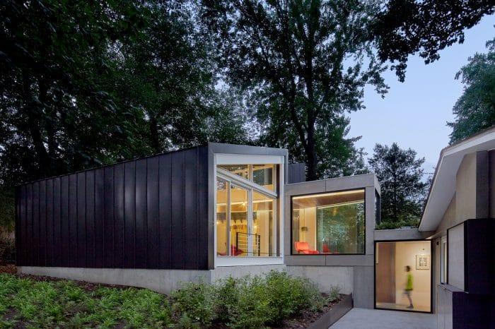 Rumah 2 lantai minimalis modern 2020