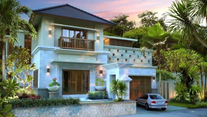 Rumah Bali Modern Mewah