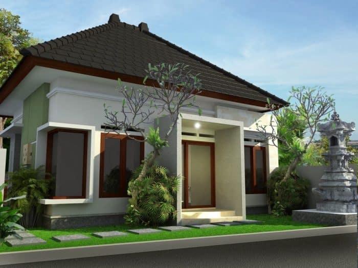 Rumah Bali Modern dengan Kaca