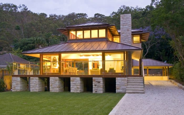 Rumah Bali Transparan