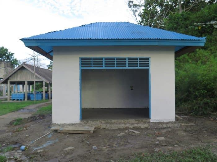 Rumah Genset Beton