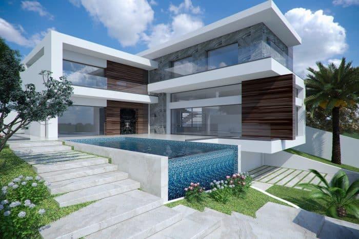 Rumah Kaca Bentuk L