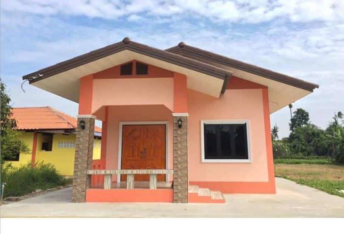 Rumah Klasik Kuno Sederhana