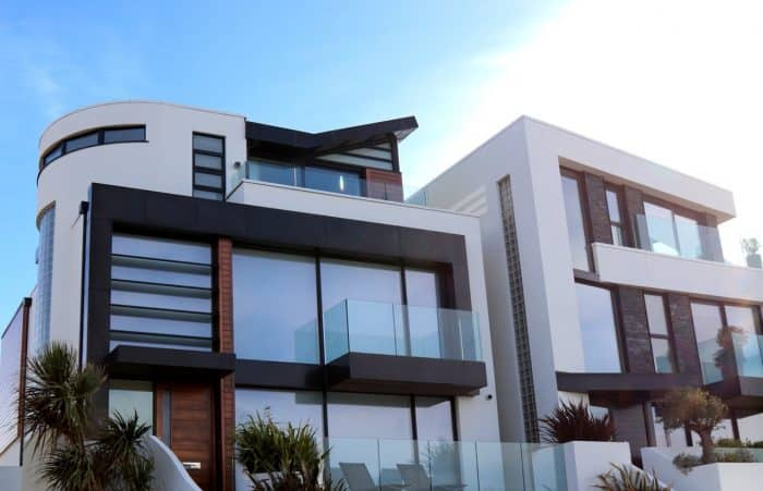 Rumah Mewah Modern Berbentuk Melengkung