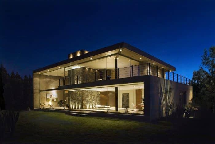 Rumah Mewah Modern Glass House 2 Lantai
