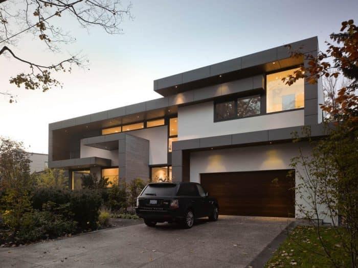 Rumah Mewah Seperti Kumpulan Persegi Panjang