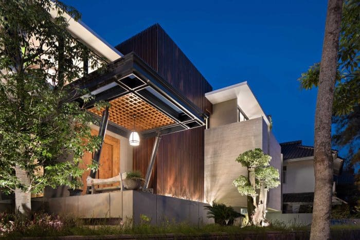 49 Contoh Desain Rumah Mewah 2 Lantai Menawan Dan Cantik