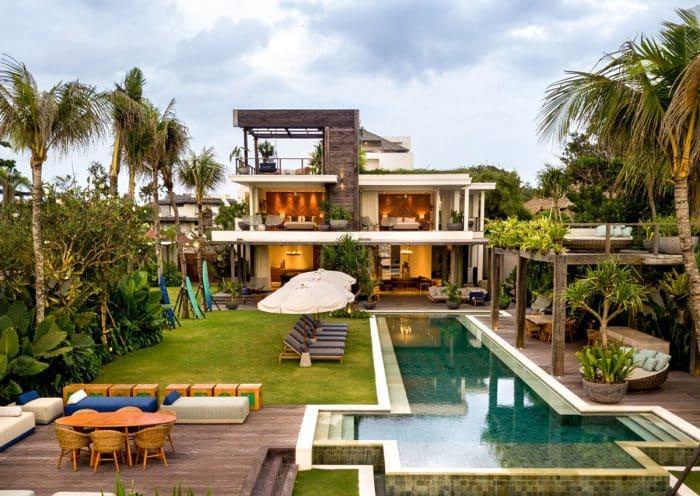 Rumah Mewah dengan Konsep Santai
