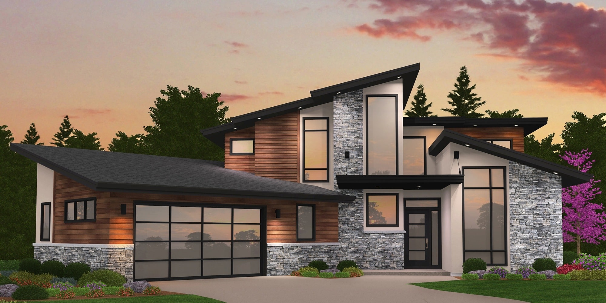 Rumah Minimalis Dengan Atap Miring Thegorbalsla