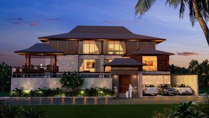 Rumah Modern Bali Mewah