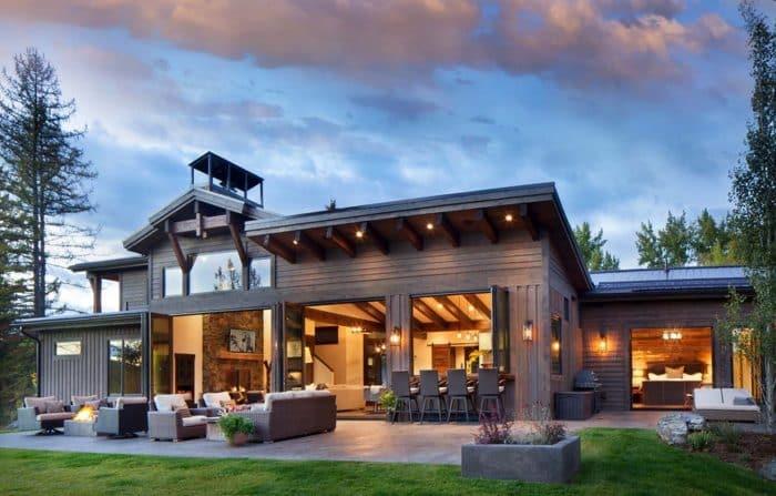 Rumah Modern Konsep Outdoor dan Indoor Lengkap