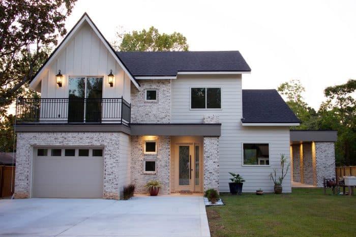 Rumah Modern Konsep Putih