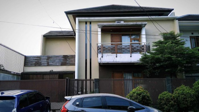 Rumah Modern Minimalis Dua Jendela
